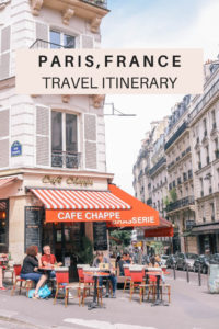 3 day Paris, France travel itinerary. Where to stay, things to do, what to eat, what to pack and all the travel tips you need for Paris travel