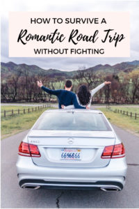 The ultimate guide to couples road trips and romantic getaways. All the best couples travel tips to enjoy your romantic vacation without fighting!