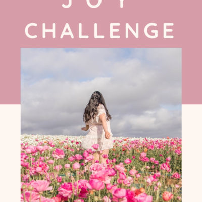 4 Week Joy Challenge