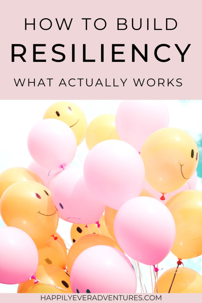 How to build resiliency